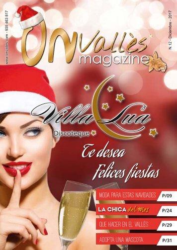 On Vallès Diciembre Magazine 2017