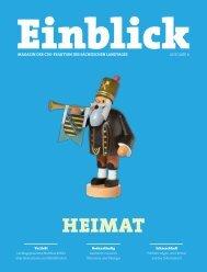 CDU-Magazin Einblick (Ausgabe 6) - Thema: Heimat