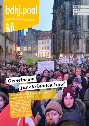 bdkj.pool, Ausgabe 1/2018: Gemeinsam für ein buntes Land