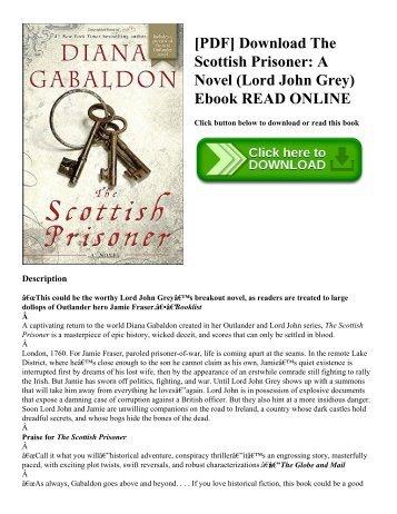 [PDF] Download The Scottish Prisoner: A Novel (Lord John Grey) Ebook READ ONLINE