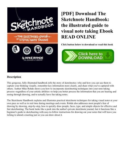 The Sketchnote Handbook Epub