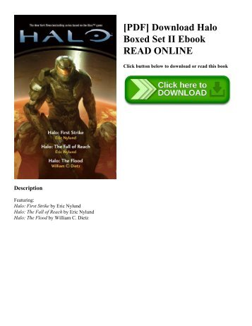 [PDF] Download Halo Boxed Set II Ebook READ ONLINE