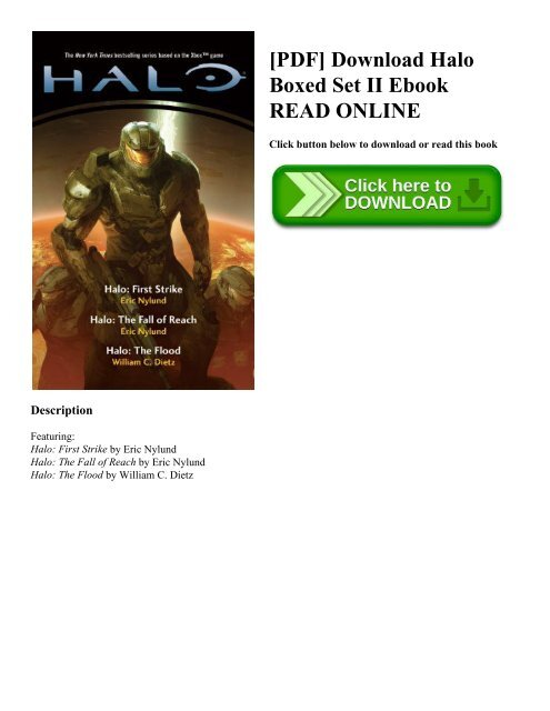 Halo Fall Of Reach Epub