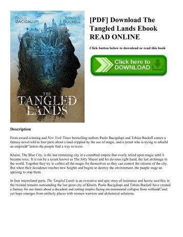 [PDF] Download The Tangled Lands Ebook READ ONLINE