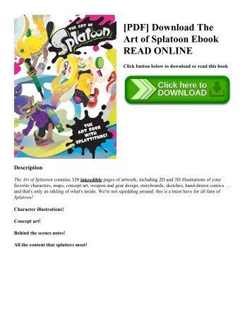 [PDF] Download The Art of Splatoon Ebook READ ONLINE
