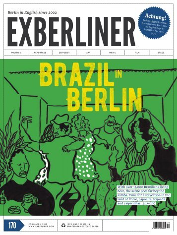 EXBERLINER Issue 170, April 2018