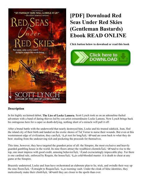 Download red seas under red skies: the gentleman bastard sequence, bo….
