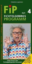 Fichtelgebirgs-Programm - April 2018