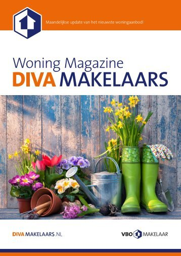 DIVA Woningmagazine #16, april 2018