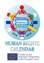 human rights calendar