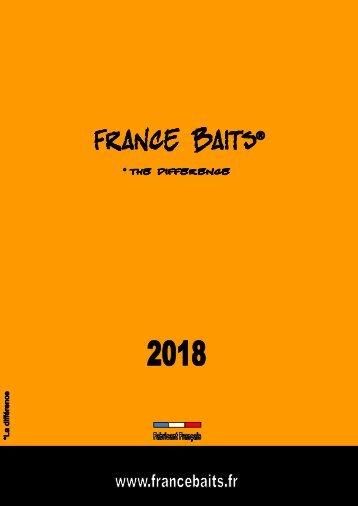 CATALOGUE FRANCE BAITS  2018 NEW
