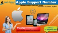 Apple Support Number +1-800-501-2708 for Technical Support