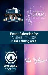 Hispanic/Latino Event Calendar booklet