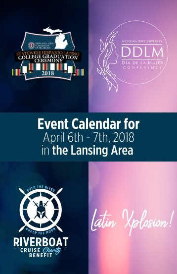 Hispanic/Latino Event Calendar booklet