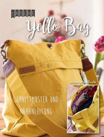 Pruella Naehanleitung yello bag