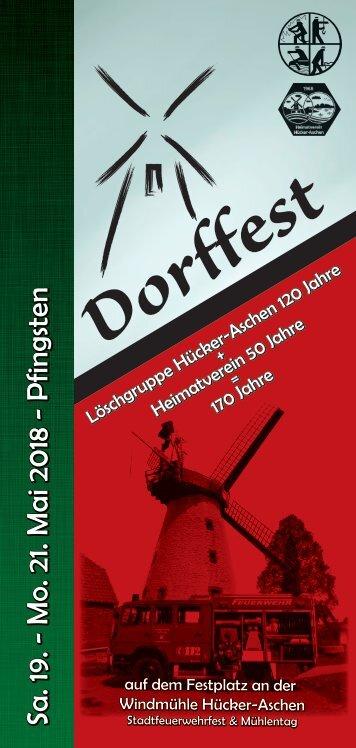 Programm Dorffest 2018