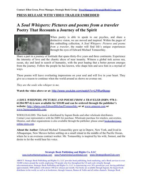 A Soul Whispers Pictures And Poems From A Traveler Sbpra