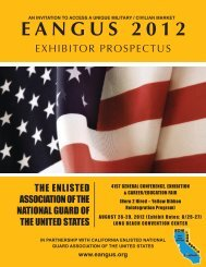 EANGUS 2012 Exhibitor Prospectus - The Enlisted Association of ...