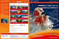 Don't Miss Out on Your Christmas Holidays! - Classic Travel