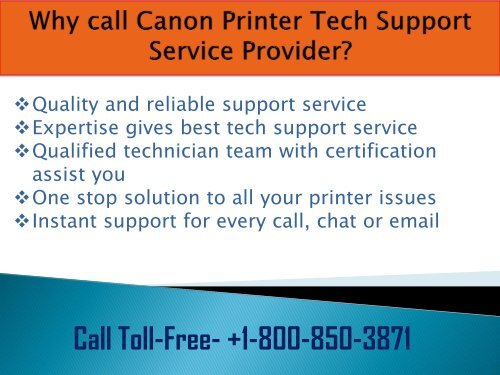 Canon Printer Support Phone Number +1-800-850-3871 Toll -Free