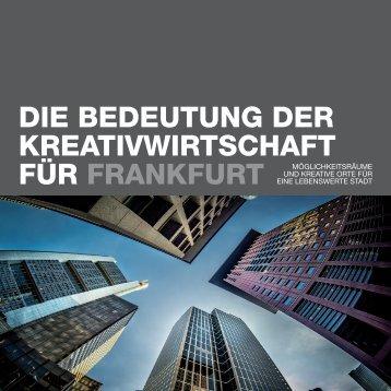 Die Bedeutung der Kreativwirtschaft für Frankfurt am Main