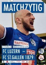 FC LUZERN MATCHZYTIG N°14 (RSL 27)