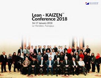 Lean Kaizen Conference 2018