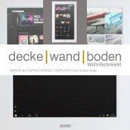 dwb Produktinformation DIRROR MultimediaSpiegel Color Seiden weiss