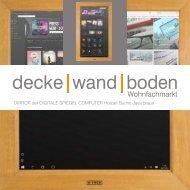 dwb Produktinformation DIRROR MultimediaSpiegel Buche Java Braun