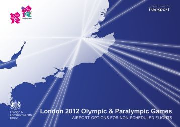 London 2012 Olympic & Paralympic Games - Department for Transport