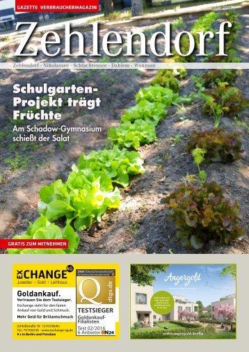 Gazette Zehlendorf Nr. 7/2017