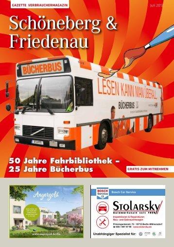 Gazette Schöneberg & Friedenau Nr. 7/2017