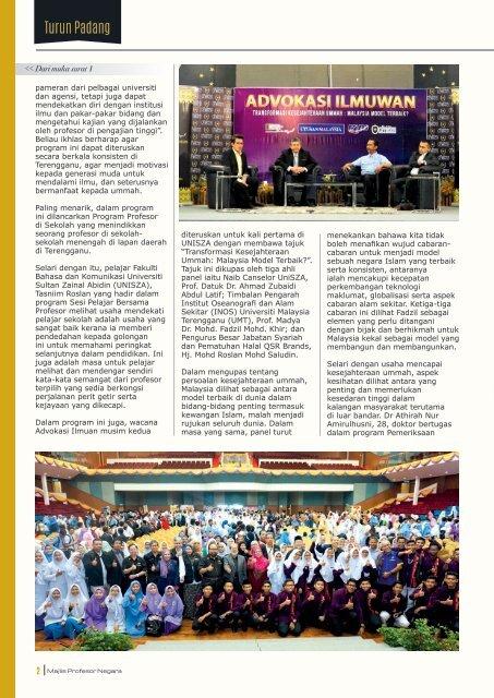 Buletin Pemikir Negara Edisi ke-2, 2018