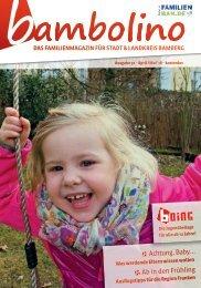 Bambolino - Das Familienmagazin für Bamberg Stadt und Landkreis