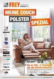 Interliving FREY - Meine Couch Polster-Spezial