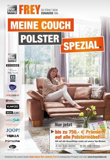 Interliving FREY - Meine Couch Polster-Spezial