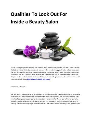 Beauty Salon in Dublin