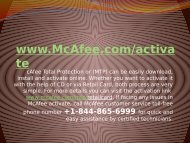 Instant mcafee activate Support go through www.mcafee.comactivate