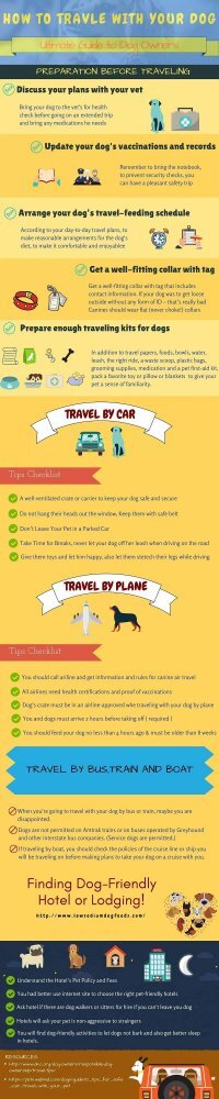 Tips of Traveling With Your Dog