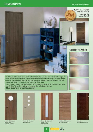 innentueren magazine. Black Bedroom Furniture Sets. Home Design Ideas