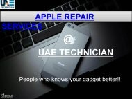 Dial +971-523252808 to get Apple Repair Services all over Dubai