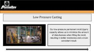 Avon Lake Casting Finishing | Alumalloy Metalcastings