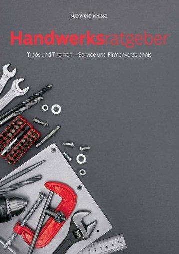 2018/13 - Handwerksratgeber 2018