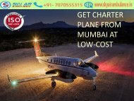 Sky Air Ambulance from Mumbai to Delhi with Doctors Team