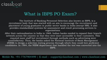 best ibps po exam classes and courses in pune