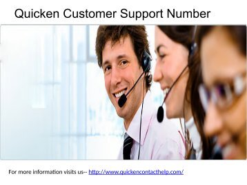 Quicken contact services team | Quicken support center