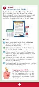 USO CONSCIENTE DO PLANO DE SAÚDE - Você e seu plano saudáveis! - Page 6