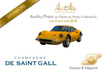 PRESS BOOK AutAu Pharo 2018 sponsors De Saint Gall