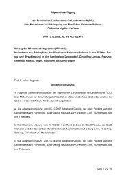 Allgemeinverfügung - Amt für Ernährung, Landwirtschaft und ...