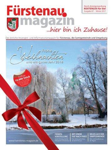 Fürstenau Mag Winter 2017